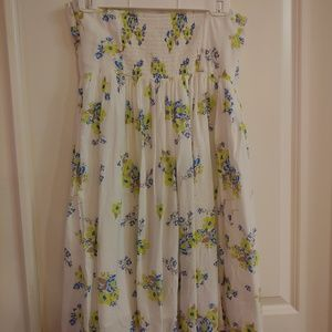 Old Navy floral sleeveless dress